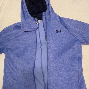 Periwinkle under armor jacket